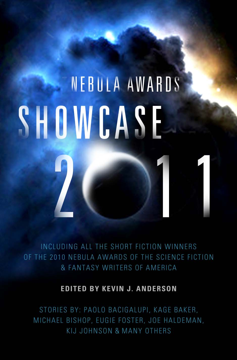 2011 Nebula Awards Showcase anthology cover
