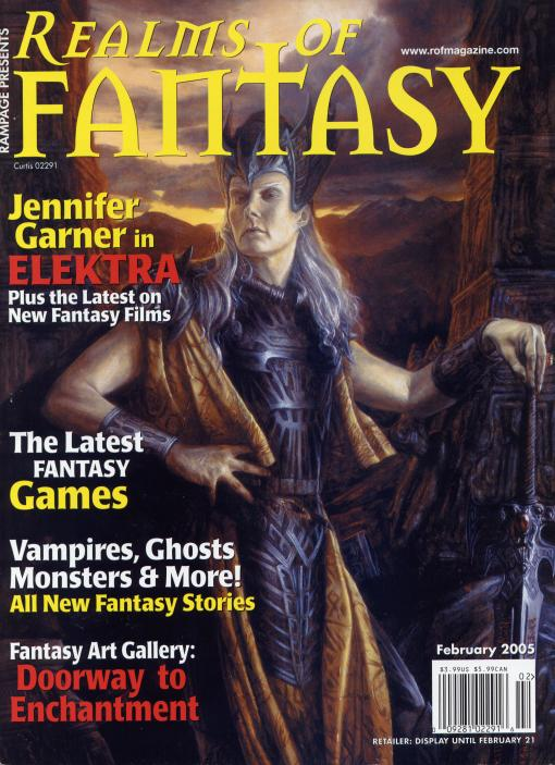 Realms of Fantasy Feb. 2005 cover