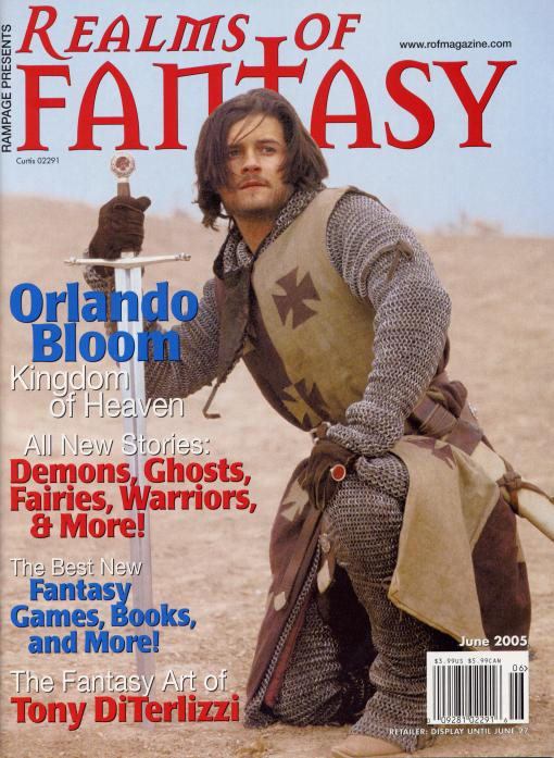 Realms of Fantasy June 2005 cover