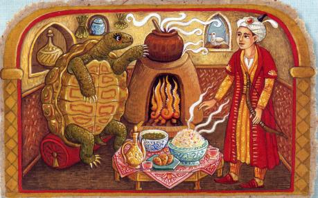 Tortoise Bride illustration by Emma Shaw-Smith